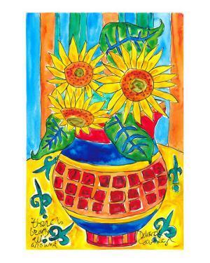 Sunflower Floral Surprise by Deborah Cavenaugh