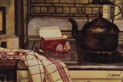 Breakfast Tea by Deborah Chabrian