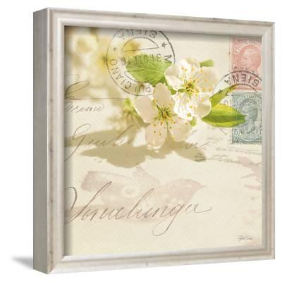 Vintage Letter and Apple Blossoms