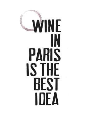 Drinks in Paris II by Deborah Velasquez