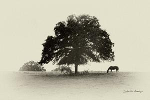 Horses and Trees I by Debra Van Swearingen