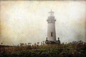 Lonely Lighthouse II by Debra Van Swearingen