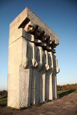 Monument at the Former Plaszow Concentration Camp by debstheleo