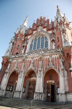 Ornate Entrance of St Joseph's Church, Krakow by debstheleo