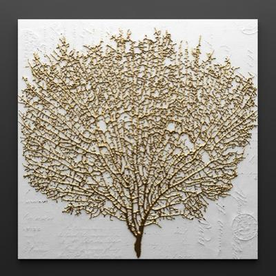3D Render Picture in Gold Coral by deckorator