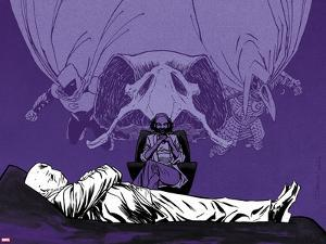 Moon Knight No. 9 Cover, Featuring: Moon Knight, Doctor by Declan Shalvey