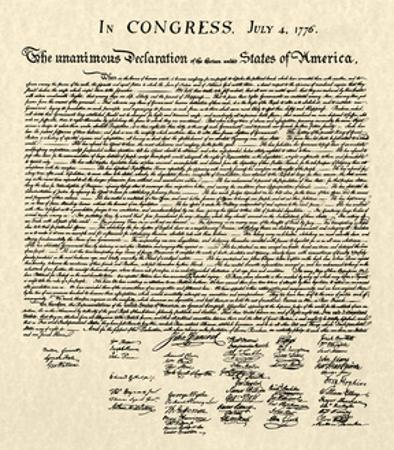 Declaration of Independence Doc.