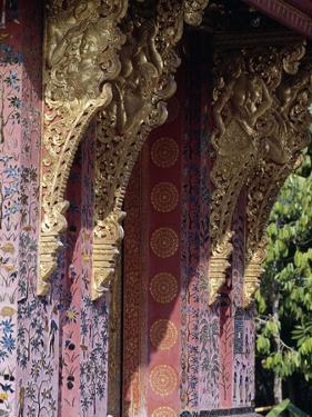 Decorated and Gilded Architectural Detail