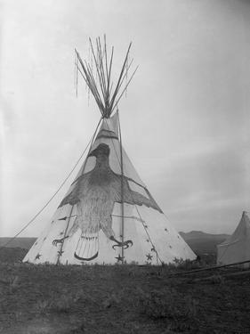 Decorated Crow Tepee