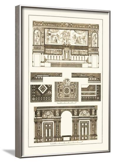 Decoration of Large Halls-J. Buhlmann-Framed Art Print