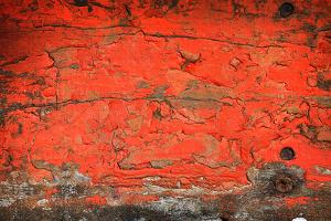 Grunge Wood Texture Background Old Panel Red by dedukh