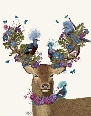 Deer Birdkeeper, Blue Pigeons