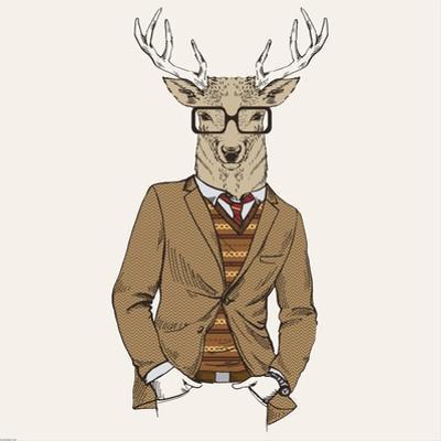 Deer in Suit