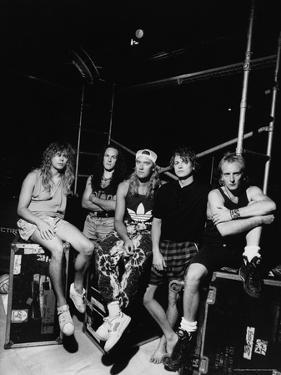 Def Leppard - Adrenalize Tour (Black and White) 1992