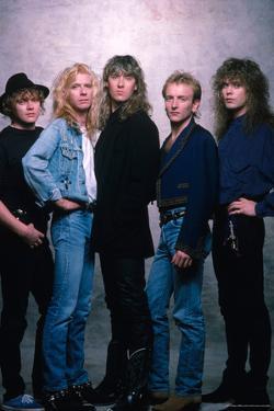 Def Leppard - Hysteria Photo Shoot 1987