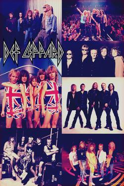 Def Leppard - Photo Collage