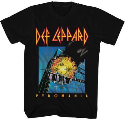 Def Leppard- Pyromania Cover