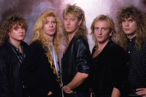 Def Leppard - Tour Photo Shoot 1987