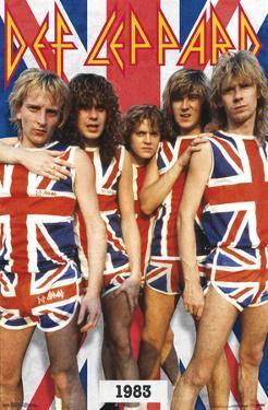 Def Leppard - Union Jack