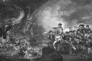 Defeat of the Floating Batteries at Gibraltar, 1782 by G Stodart