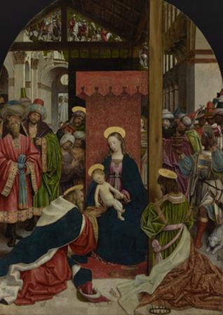 Adoration of the Magi, c.1520 by Defendente Ferrari