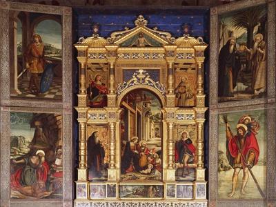 Nativity Polyptych, 1511