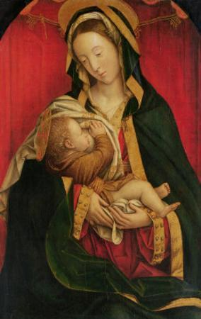 The Madonna Suckling Her Child, 1520-30