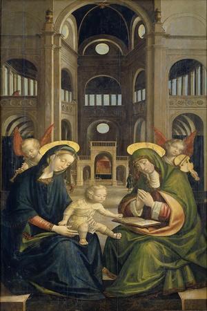 Virgin and Child with Saint Anne (Anna Selbdritt)