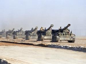 U.S. Howitzers by Dejong
