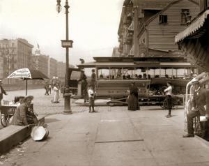 Delancey Street, Manhattan, c.1907