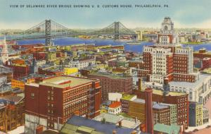 Delaware River Bridge, Philadelphia, Pennsylvania