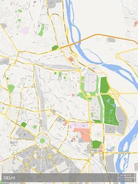 Delhi, India Map