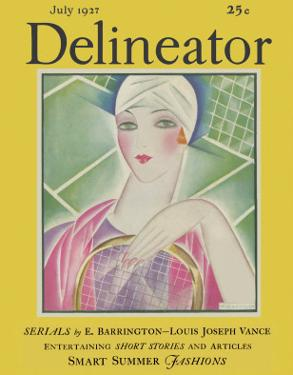 Delineator Cover July 1927