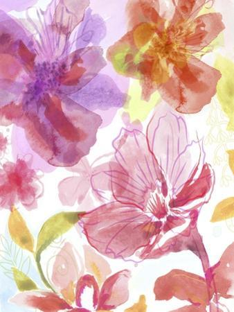Blossoms in the Sun III by Delores Naskrent