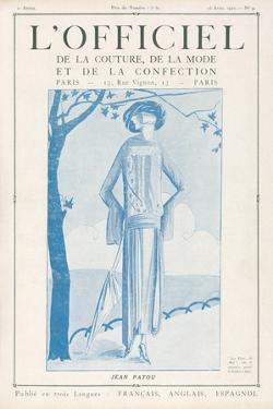 L'Officiel, January 15 1922 - Robe de Molyneux by Delphi