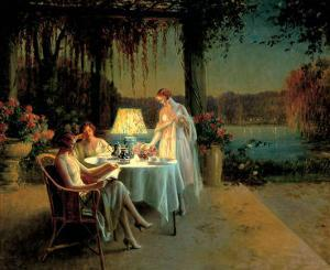 Quiet Evening by Delphin Enjolras