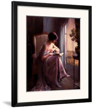 Young Woman Reading by a Window by Delphin Enjolras