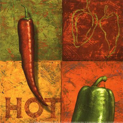 The Great Chile Poster Dried Mark Miller Kitchen Seco Pepper Food Poster Print