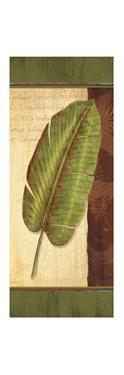 Palm Tropic Panel II by Delphine Corbin