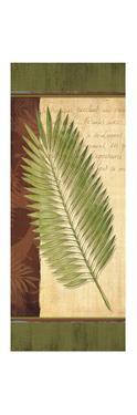 Palm Tropic Panel III by Delphine Corbin