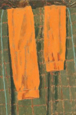 Les Bas Oranges, 2004 by Delphine D. Garcia