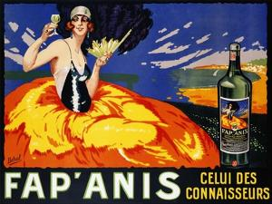 Fap' Anis, ca. 1920-1930 by Delval
