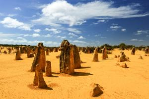 Pinnacles Desert, Australia by demerzel21