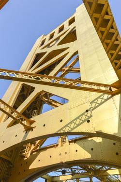 Tower Bridge, Sacramento, California by demerzel21