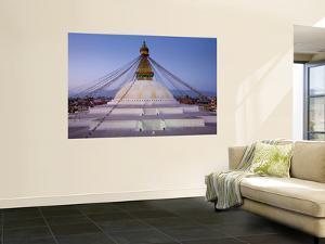 Bodnath Stupa, Kathmandu, Nepal by Demetrio Carrasco