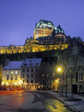 Chateau Frontenac, Quebec City, Quebec, Canada by Demetrio Carrasco