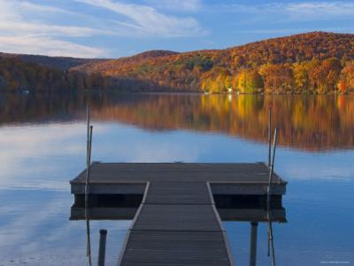Lake Waramaug, Connecticut, New England, USA
