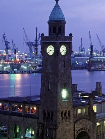 Landungsbrucken, Port of Hamburg, Germany