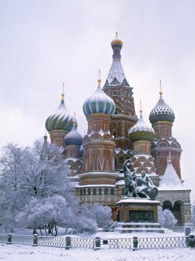 St. Basils, Moscow, Russia by Demetrio Carrasco