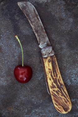 Dark Red Cherry by Den Reader